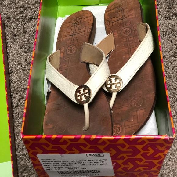 7dfb12789bbb Tory Burch Thora thong sandal Sz 9